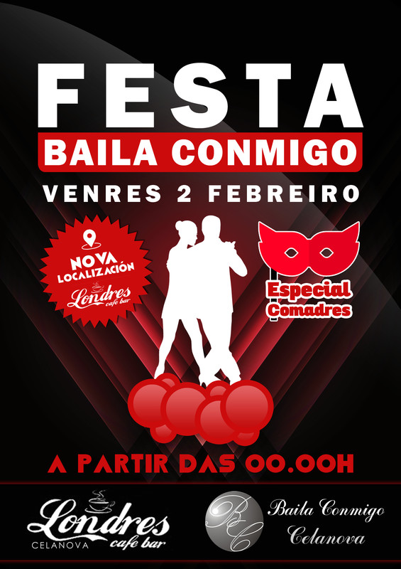 Festa Baila Conmigo Febreiro 2018