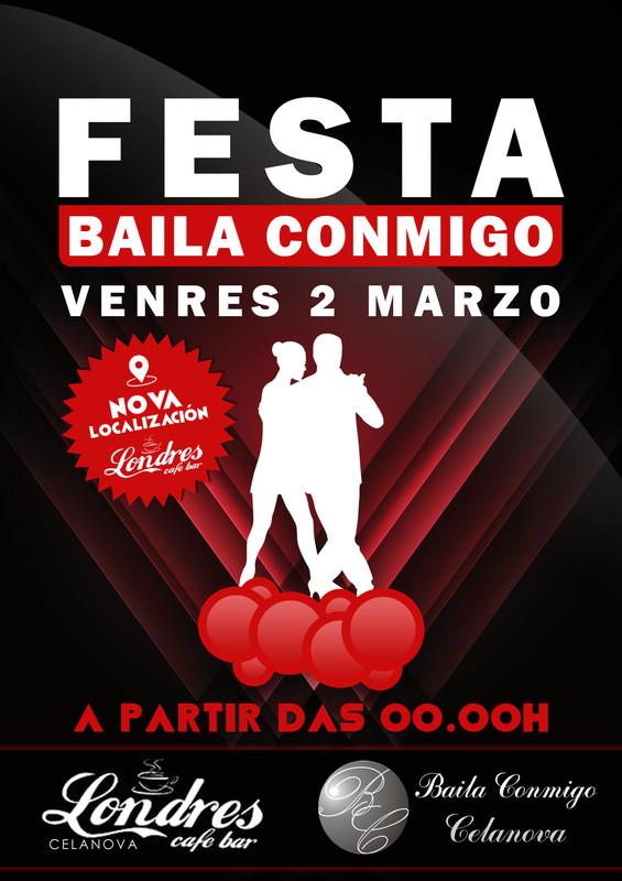Festa Baila Conmigo Marzo 2018
