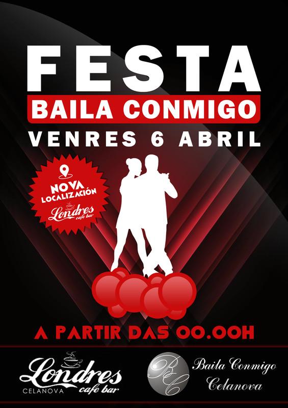 Festa Baila Conmigo Abril 2018