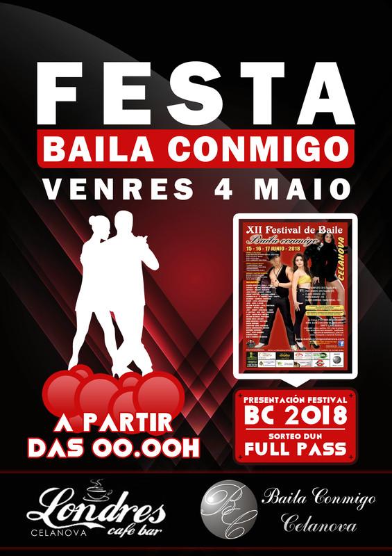Festa Baila Conmigo Maio 2018