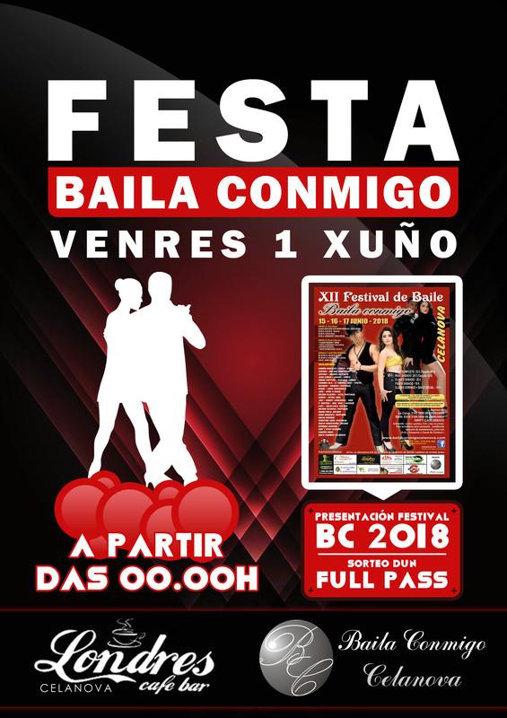 Festa Baila Conmigo Xuño 2018