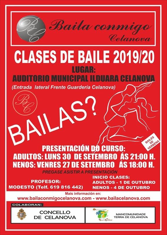 CLASES DE BAILE EN CELANOVA