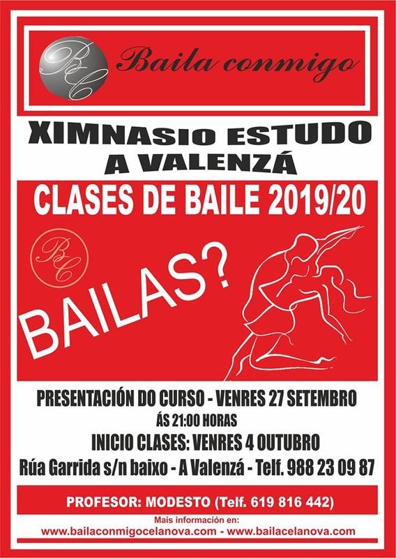 CLASES DE BAILE, CURSO 2019/20