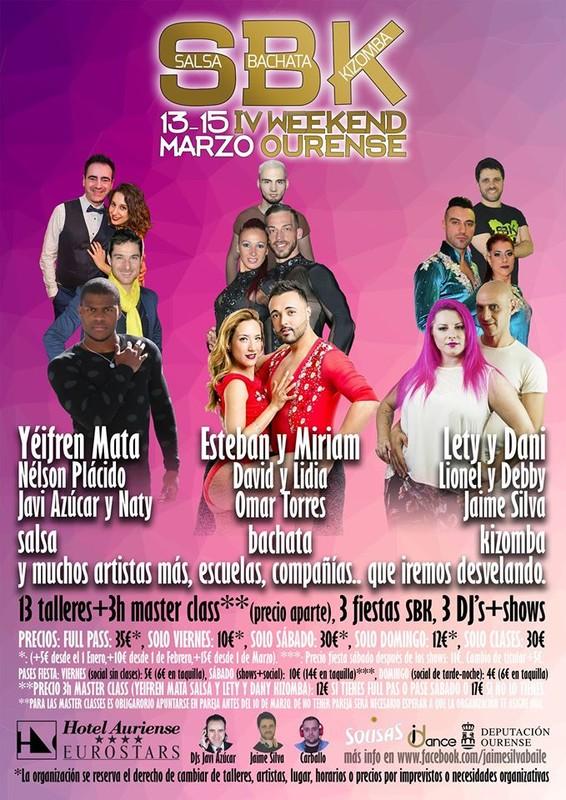 IV Congreso de baile SBK Weekend Ourense