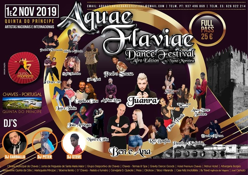 AQUAE FLAVIAE DANCE FESTIVAL –CHAVES –PORTUGAL