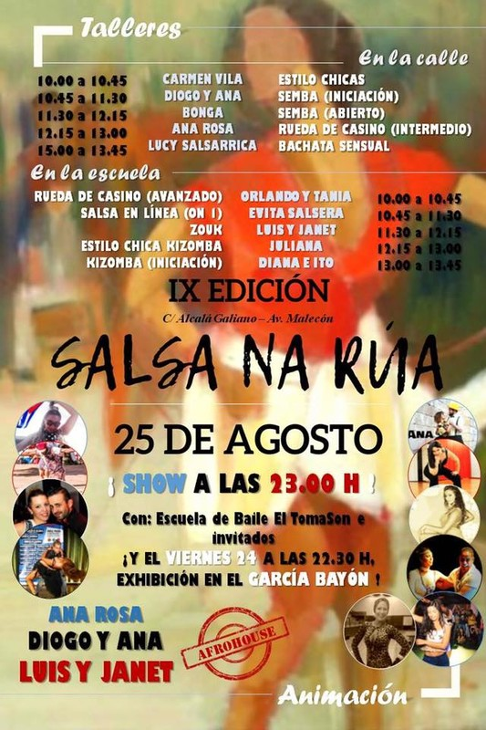 IX EDICIÓN -SALSA NA RÚA - RIVEIRA